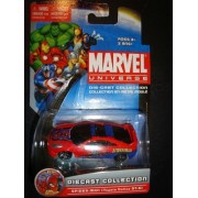 MARVEL UNIVERSE SPIDER-MAN TOYOTA CELICA GT-S DIE-CAST CAR