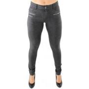 Drome II Zipper pants grey melange