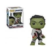 MARVEL Figura FUNKO Pop Marvel Avengers Endgame Hulk Team Suit