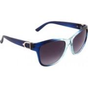 Olvin Retro Square Sunglasses(Grey)