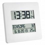 Able2 Radiografische klok met temperatuurweergave -19,5 x 19,5 x 2,7 cm