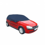 Husa pentru parbriz de culoare neagra impotriva inghetului pentru masinile Sedan marimea L cu dimensiunile 266 x 165 x 58 cm