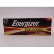 Energizer industrial baterii alcaline AA LR6 1.5V EN91 cutie 10 bucati LR6DP10