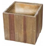 Wood Cube virágcserép 55x55x52cm