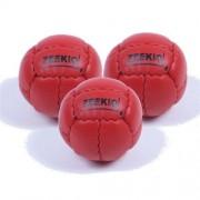Zeekio Galaxy Juggling Ball Gift Set- 3 Galaxy Juggling Balls-RED