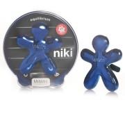 Mr & Mrs Fragrance Niki - modrá - Equilibrium Vůně do auta 1 kus