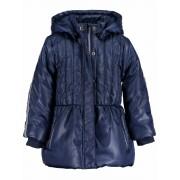 Blue Seven! Meisjes Winterjas - Maat 98 - Donkerblauw - Polyester