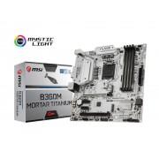 MB, MSI B360M MORTAR TITANIUM /Intel B360/ DDR4/ LGA1151