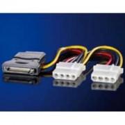 """INTERNI Y-Power kabel, S-ATA / 3×5.25"""""""