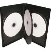 DVD-BOX 14 mm Четворна черна за DVD