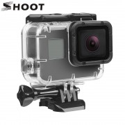 SHOOT 40M Underwater Waterproof Case for GoPro Hero 5 Black Go Pro Hero 6 Camera Diving Housing Mount for GoPro Hero 6 Accessory