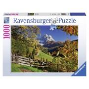 Ravensburger puzzle monte pelmo, venetia, italia 1000 piese