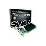 Placa De Vídeo Geforce Gt210 1gb Ddr3 64bits Pci-E Evga