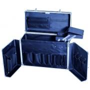 Черен алуминиев куфар #764122