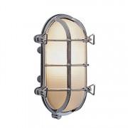 Bullseye wandlamp chroom 19.5cm