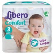 Libero Comfort 3 - 5 à 9 kg - Paquet de 62 langes