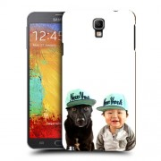 Husa Samsung Galaxy Note 3 Neo N7505 Silicon Gel Tpu Model Bebelus Si Caine New York