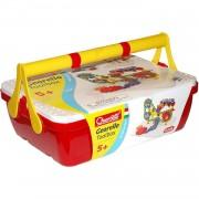 Quercetti georello toolbox bouwpakket rood 165-delig