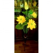 New Trend Fashionable stand flower vase (2 fit 3 inch) lotus flowers and a total set for home indoor decoration.