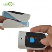 Vingertop pulsoxymeter infrarood thermometer spo2 saturatiemeter hart monitor digitale Display Vinger non-contact pulsometro ilincare