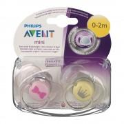Avent Philips® Avent Beruhigungssauger Neugeborene 0 - 2 Monate Mädchen