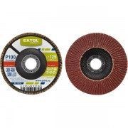 Extol Craft Lamelový kotouč šikmý korundový, P40, 125mm, EXTOL CRAFT Kotouč 260024