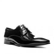 Lloyd Schuhe Herren, Lackleder, schwarz
