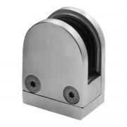PRO_METAL_DESIGN Pinze Fermavetro Per Vetro Inox Aisi 316 Spessore 10 Mm 4 Pezzi