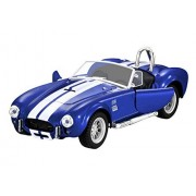 1:32 Scale Alloy Shelby Cobra 427 Model Vintage Diecast Vehicles Toy with Sound & Light for Kids Toddler Boys Retro Sport Racing Cars Vehicle Playset Toys Xmas Birthday Gift Home Decor Collection
