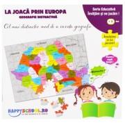 Joc educativ -La joaca prin Europa