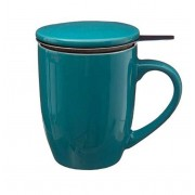 Cana cu infuzor pentru Ceai 320 ml Portelan Bleu