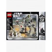 Lego 75261, Clone Scout Walker da Lego Star Wars preto claro liso com motivo