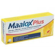Farma 1000 Srl Maalox Plus*30cpr Mast