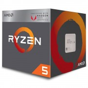Procesor AMD Ryzen 5 2400G, YD2400C5FBBOX, 4 nuclee, 3.6GHz (3.9GHz Max Turbo), 6MB, AM4, 65W