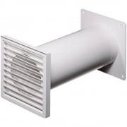 Ventilacijski sustav okruglih cijevi 100 plastični kanal ( x L) 10 cm x 48 cm Wallair N37824 bijeli