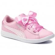 Puma Sneakersy PUMA - Vikky Ribbon L Satin Jr 369542 03 Pale Pink/Pale Pink