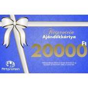 Fittprotein Online Ajándékkártya Férfiaknak 20000Ft értékben