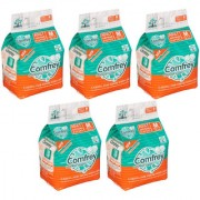 COMFREY PANT STYLE ADULT DIAPER PANTS M ( 10 Pcs. PACK ) SET OF 5 PACKS FOR WAIST SIZE 24-33 INCHES.