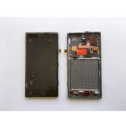 Дисплей + Тъч скрийн + Рамка за Nokia Lumia 830 Черен