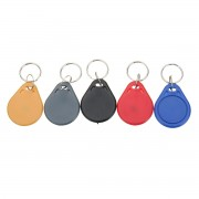100pcs 13.56MHZ Classic1K ABS ISO IC Key Fobs Access Control Keychain RFID Smart Card Tag