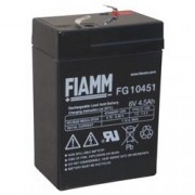 Fiamm Batteria al Piombo 6V 4,5Ah (Faston 4,8mm)