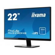 Iiyama XU2290HS-B1 LED-monitor 54.6 cm (21.5 inch) Energielabel B (A+ - F) 1920 x 1080 pix Full HD 4 ms HDMI, DVI, VGA AH-IPS LED
