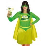 Disfraz Miss Mojito mujer Única