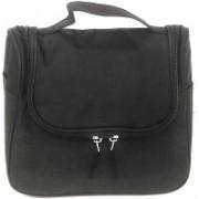 Di Grazia Multifunctional Hanging Men Women's Travel Toiletry Organiser, Cosmetics Storage Bag (Black, Black-Hanging-Cosmetic-Case) Travel Toiletry Kit(Black)