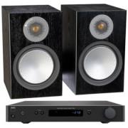 Pachete PROMO STEREO - Monitor Audio - Silver 100 + NAD C 338 Natural Oak