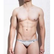 Mategear Tong Bae Flat Front Half Back Extremely Sexy Mini Bikini Underwear White 1041002