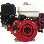 Honda Engines Horizontal OHV Engine with Electric Start (270cc, GX240 Series, 1 Inch x 3 31/64 Inch Shaft, Model: GX240UT2QAR2)
