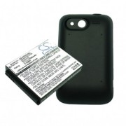 HTC BA S540 Усилена 2500 mAh Батерия + Капак за HTC Wildfire S