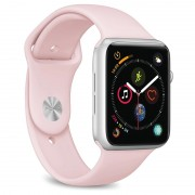Puro Icon Apple Watch Series 5/4/3/2/1 Silicone Band - 42mm, 44mm - Pink
