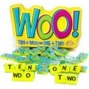 Joc educativ cu litere si numere Woo - Fat Brain Toys